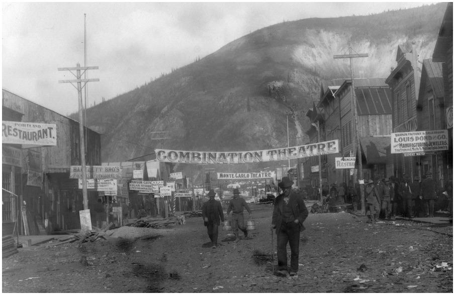 Alex Somers, John Somers - Dawson City: Frozen Time #Venezia73 - Fred  English Channel